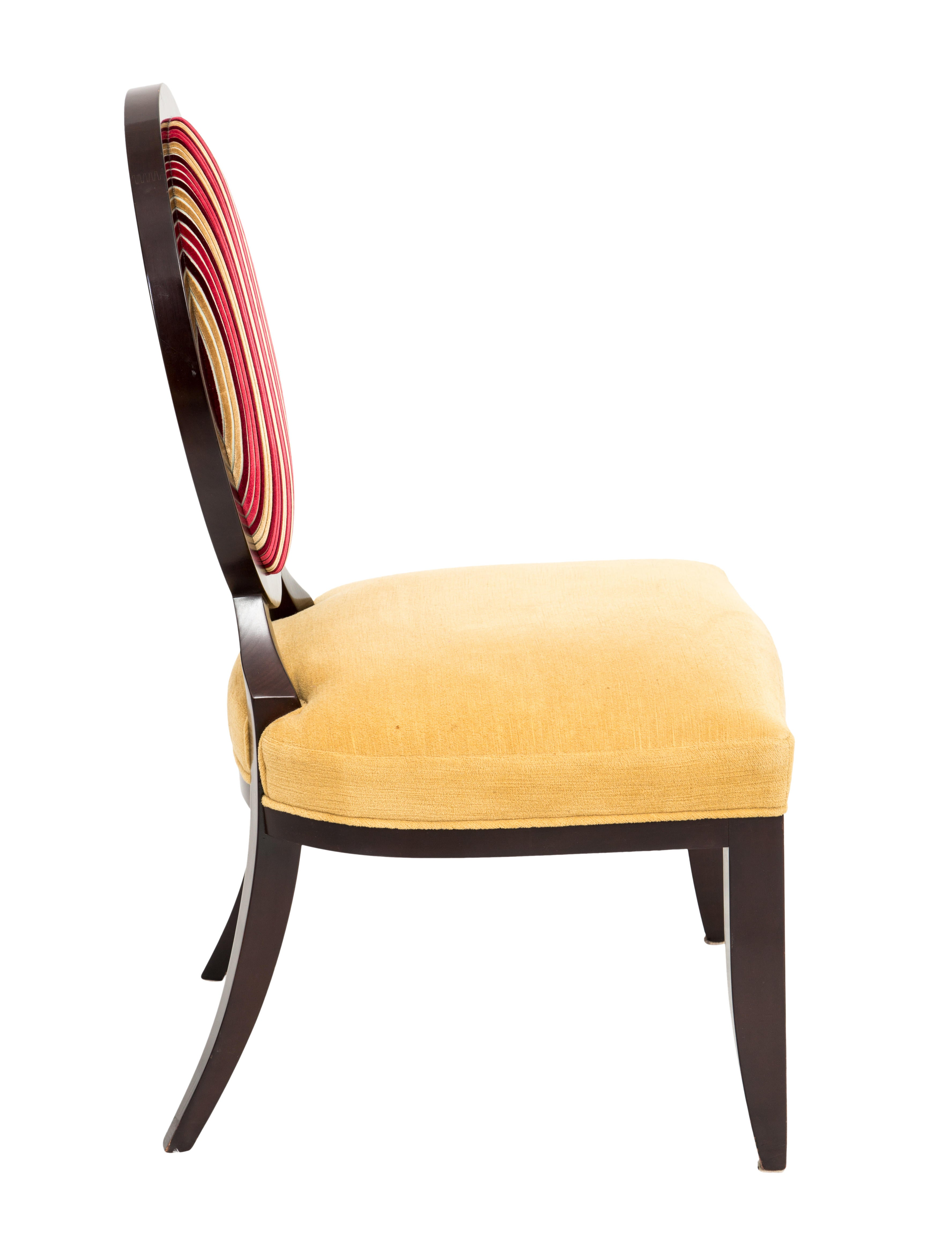 Baker Oval X Back Dining Chairs Furniture Chair20189