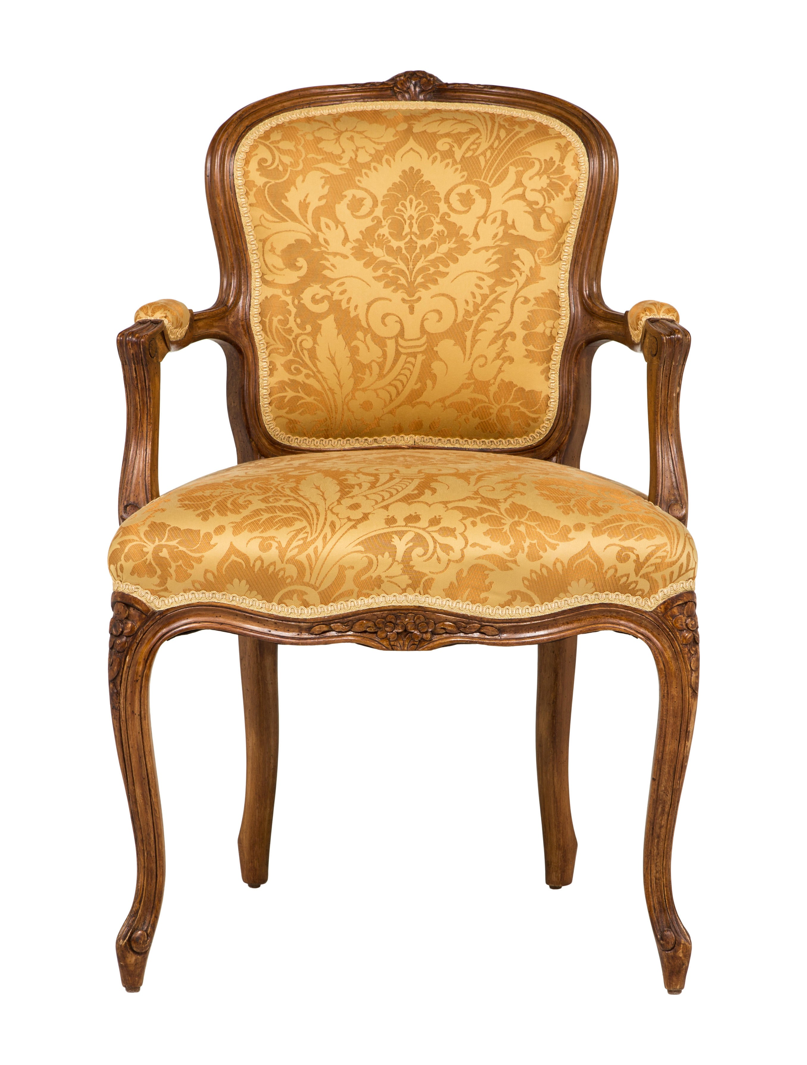 Pair of Louis XV Rococo Chairs Furniture CHAIR
