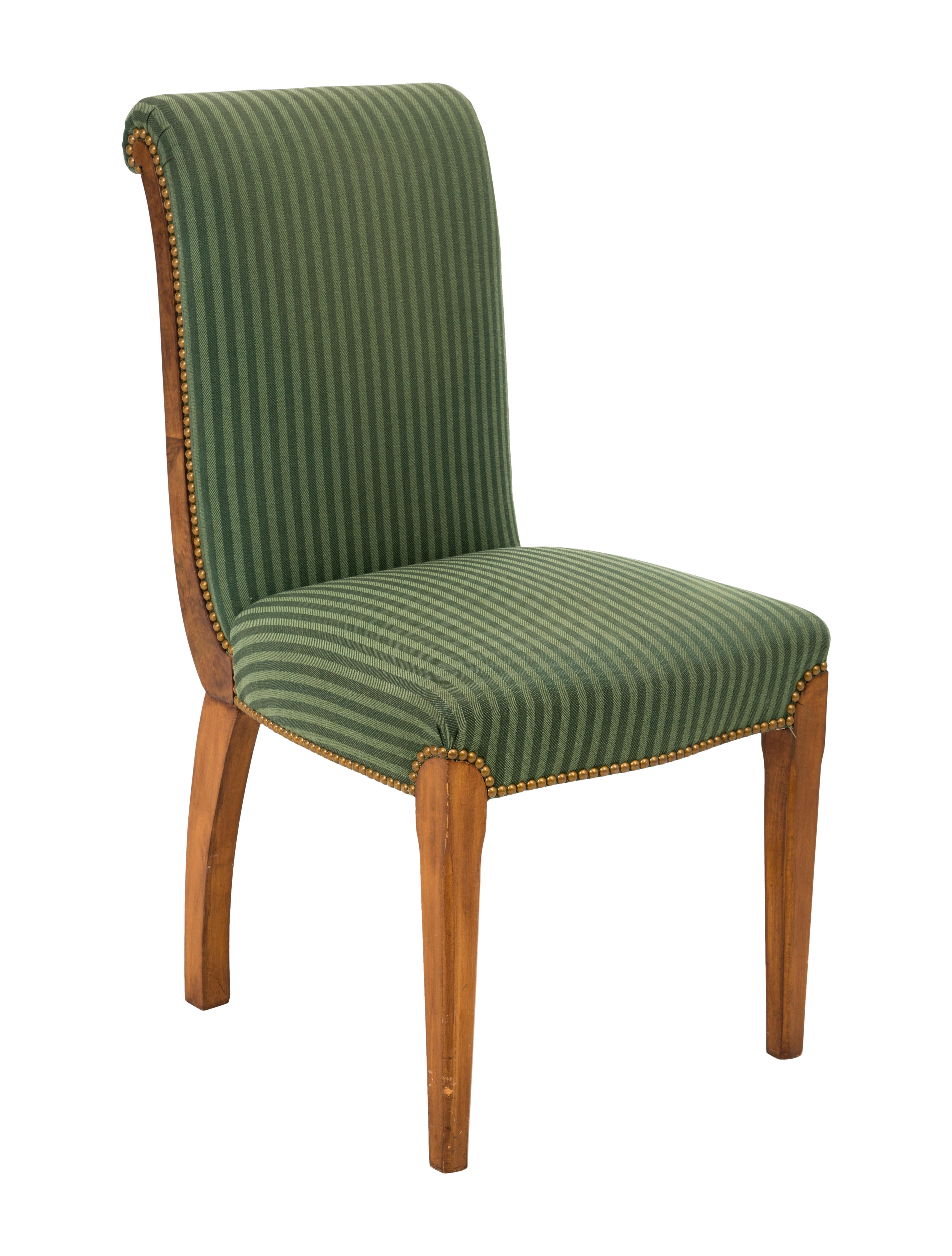 Upholstered side chair furniture chair20263 the realreal for Furniture upholsterer