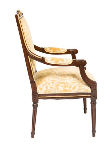 Louis Xvi Style Armchairs Furniture Chair20434 The Realreal