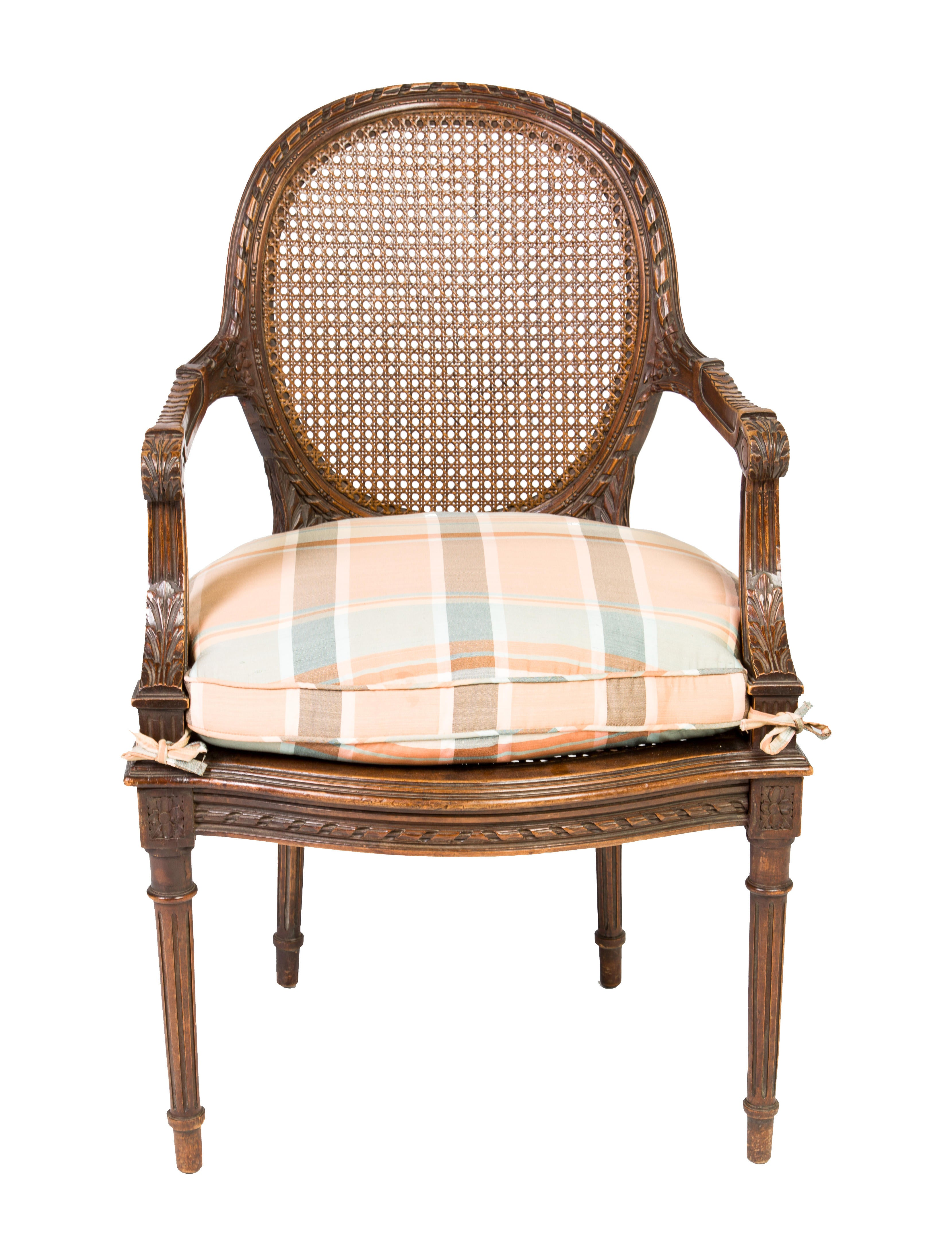Louis Xvi Style Armchair Furniture Chair20466 The Realreal
