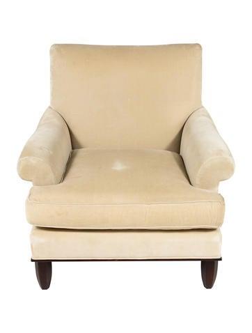 Set Of 2 Velvet Baker Chairs
