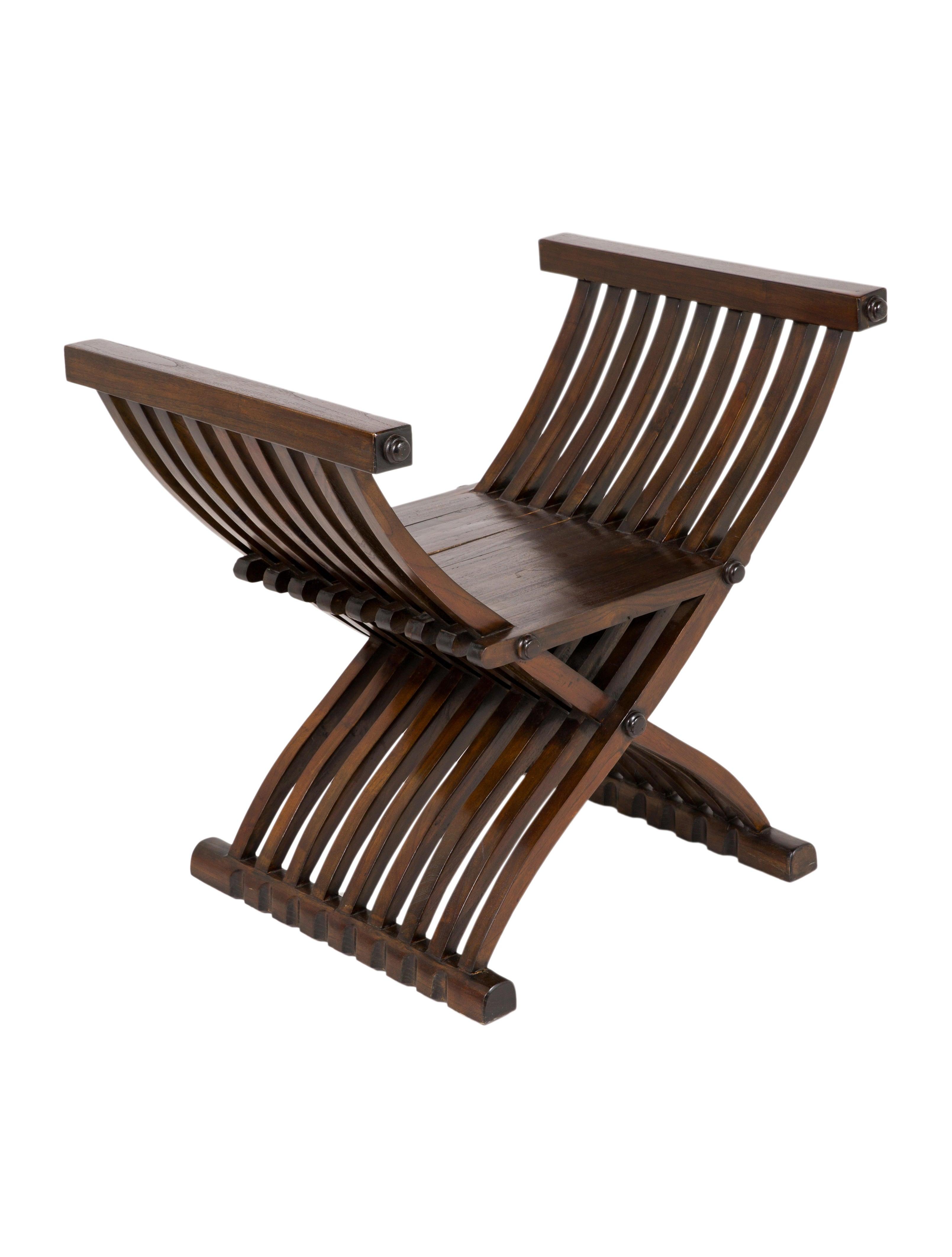 Noir Curule Chair Furniture Chair20473 The Realreal