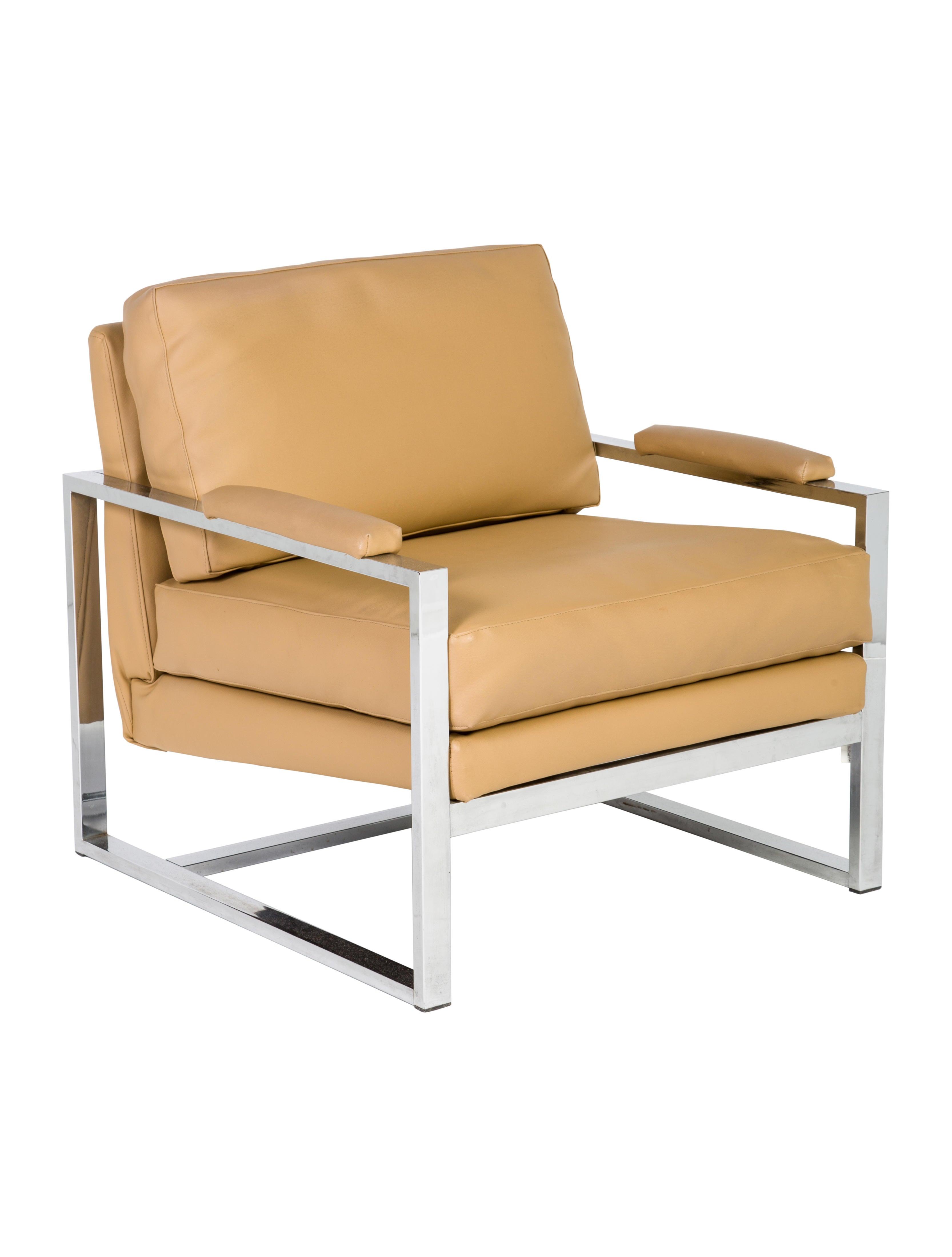 Great Milo Baughman Style Mid Century Modern Lounge
