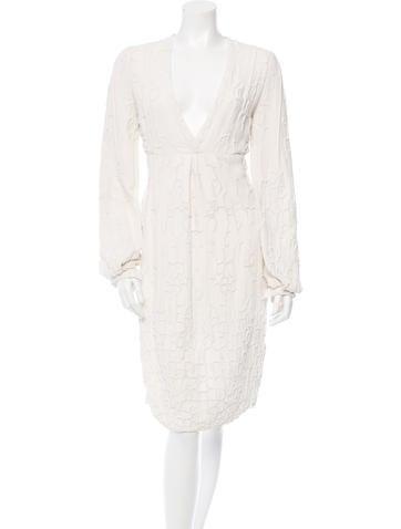Ralph Rucci Embellished Midi Dress None