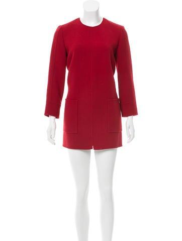 Ralph Rucci Long Sleeve Mini Dress None