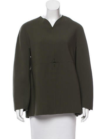 Ralph Rucci Wool Long Sleeve Top None