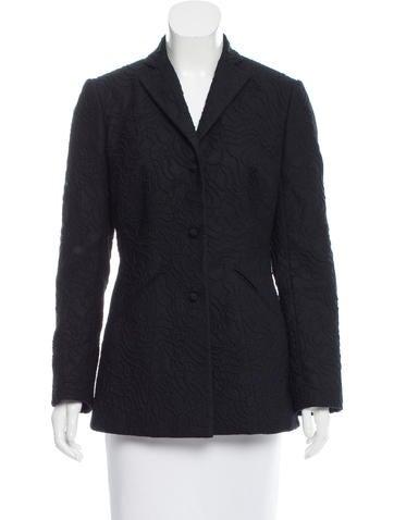 Ralph Rucci Short Cashmere Coat None