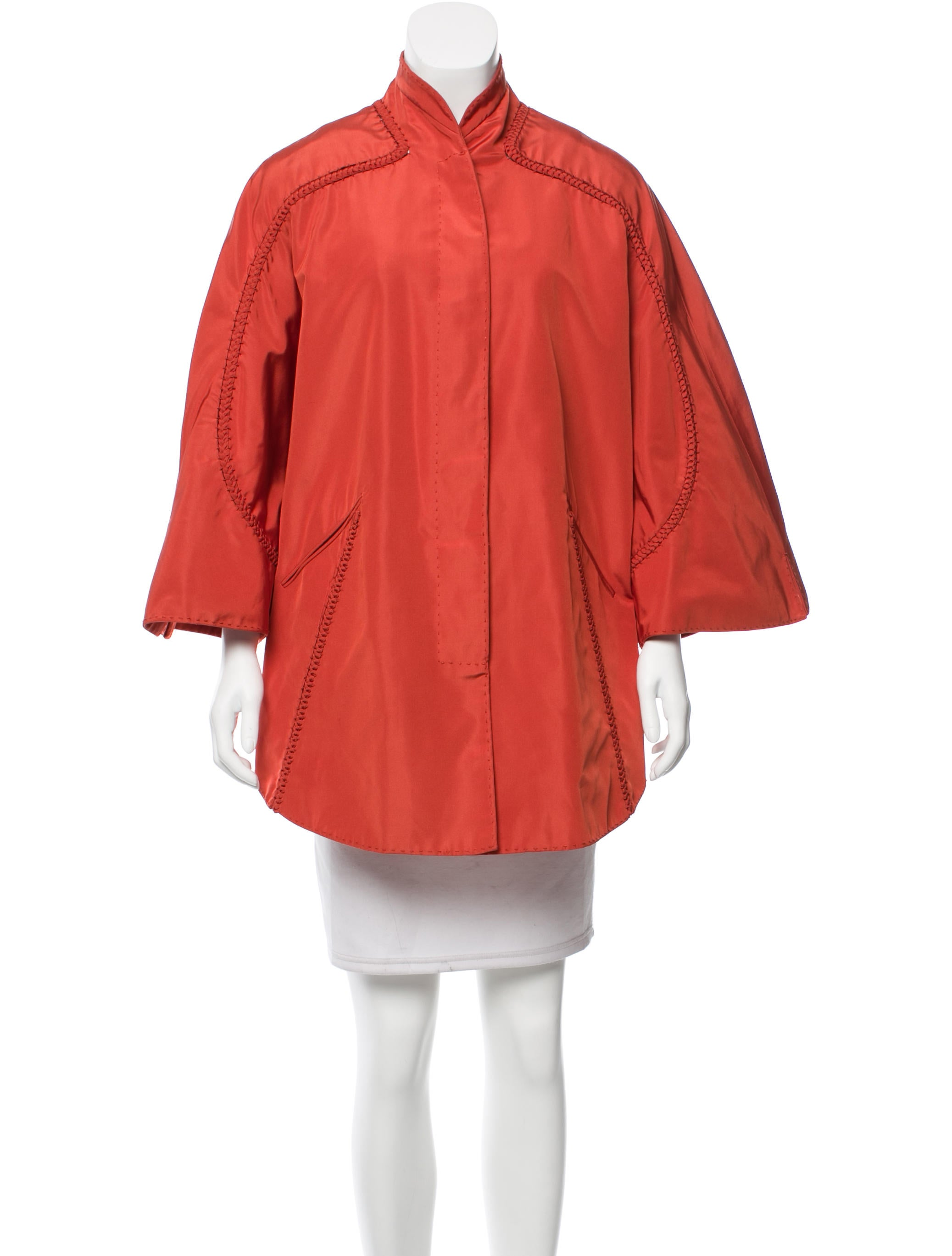 ralph rucci silk kimono jacket clothing chd21455 the. Black Bedroom Furniture Sets. Home Design Ideas