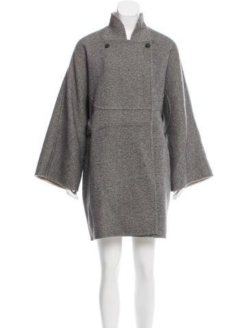 Ralph Rucci Cashmere Oversize Coat None