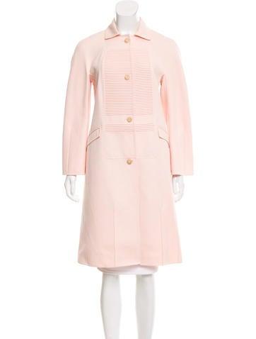 Ralph Rucci Wool Knee-Length Coat None