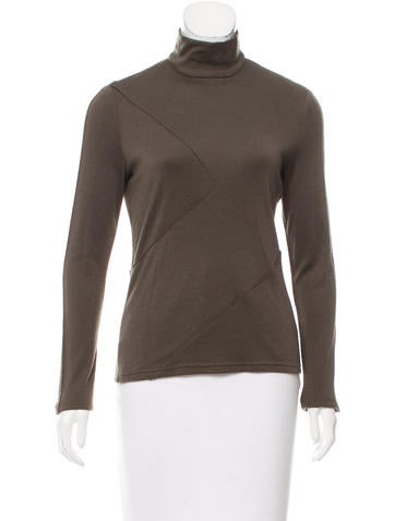 Ralph Rucci Silk Zip-Up Top None