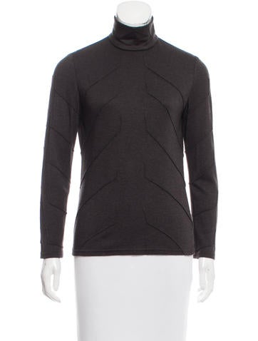 Ralph Rucci Cashmere & Silk-Blend Top None