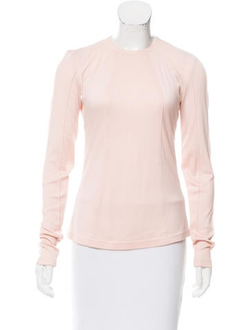 Ralph Rucci Knit Long Sleeve Top None