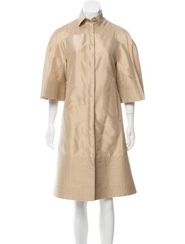 Ralph Rucci Long Silk Jacket None