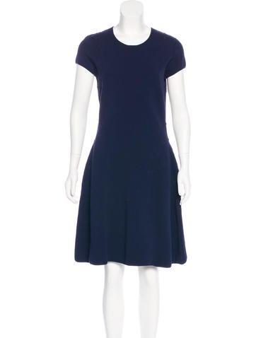 Ralph Rucci Knit A-Line Dress w/ Tags None