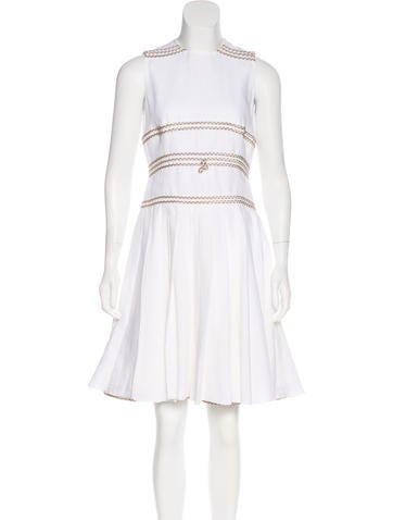 Ralph Rucci Sleeveless Knit Dress None
