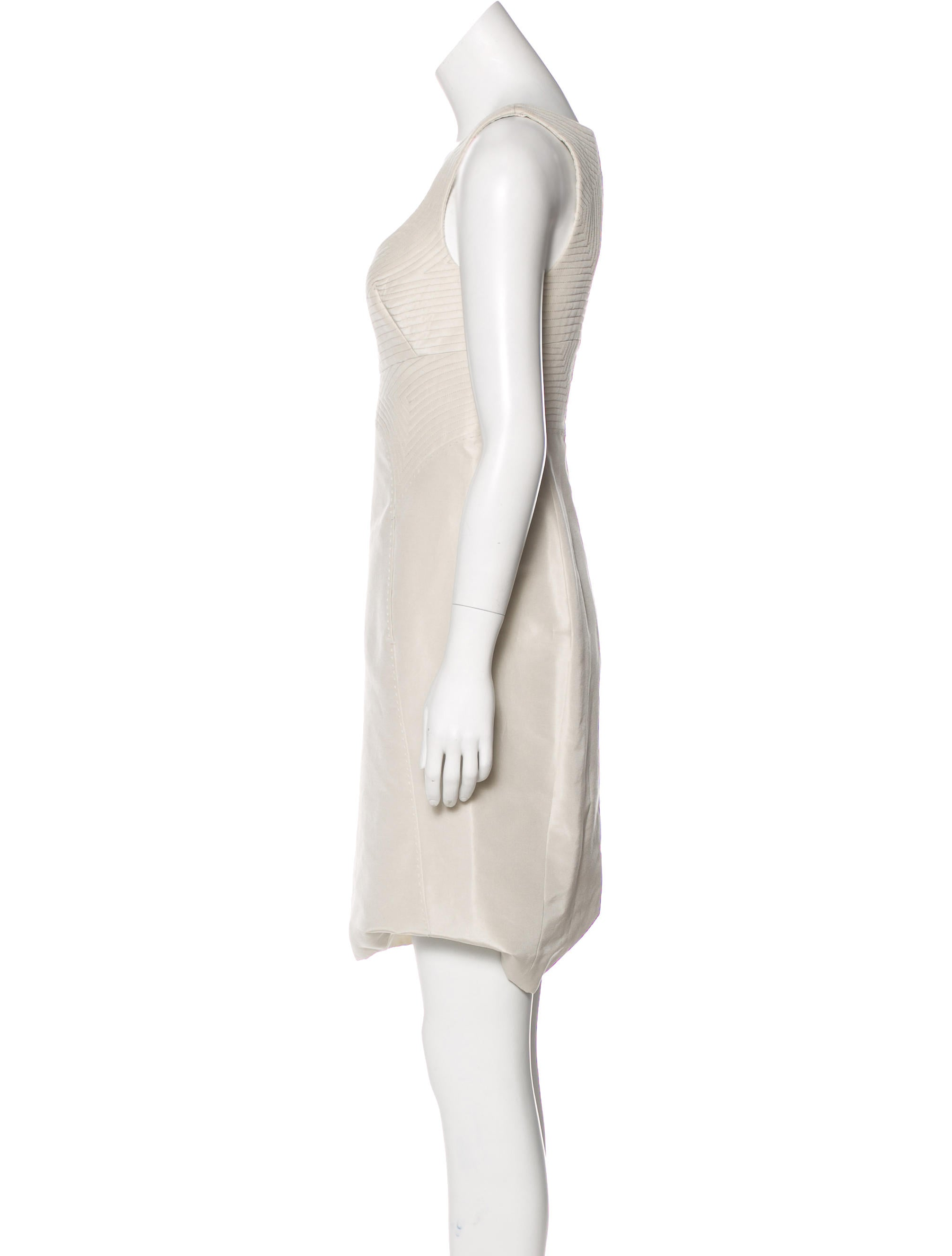 Comfortable Ralph Rucci Quilted Silk Dress Latest Discounts Cheap Sale Free Shipping Footlocker Cheap Online 5zcfWJg