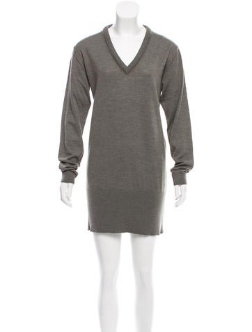 Lemaire Wool Sweater Dress None