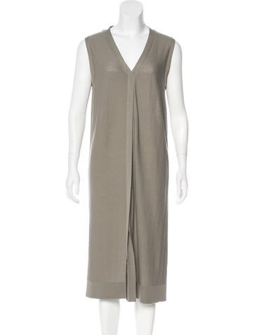 Lemaire Wool Midi Dress None