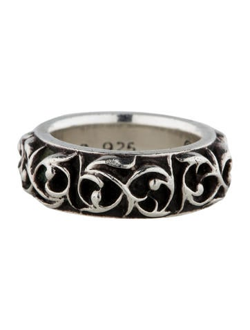 Carved Tribal Ring