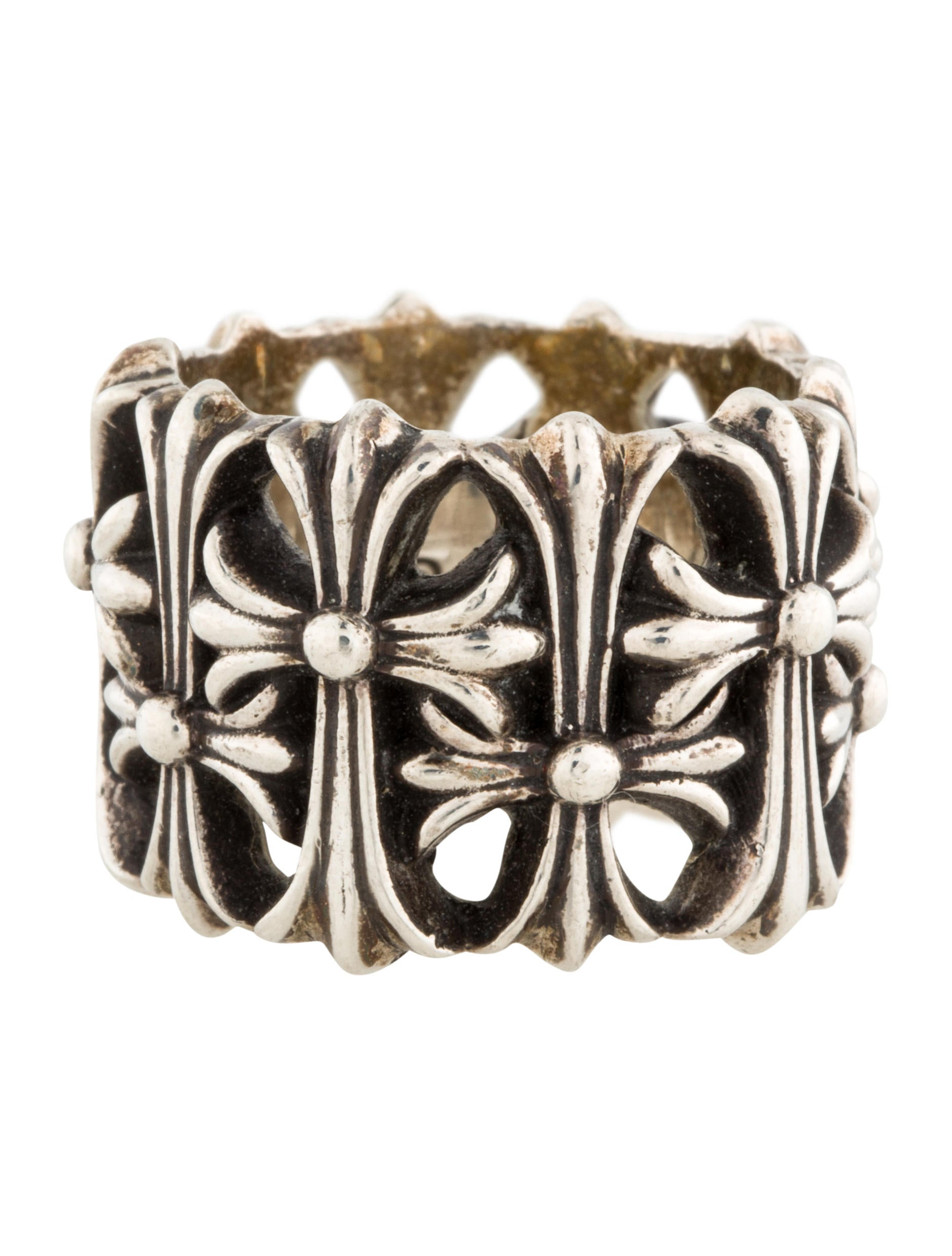 243259e51972 Chrome Hearts Cemetery Ring - Rings - CHH20814