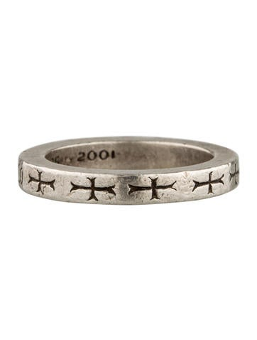 Etched Band Ring