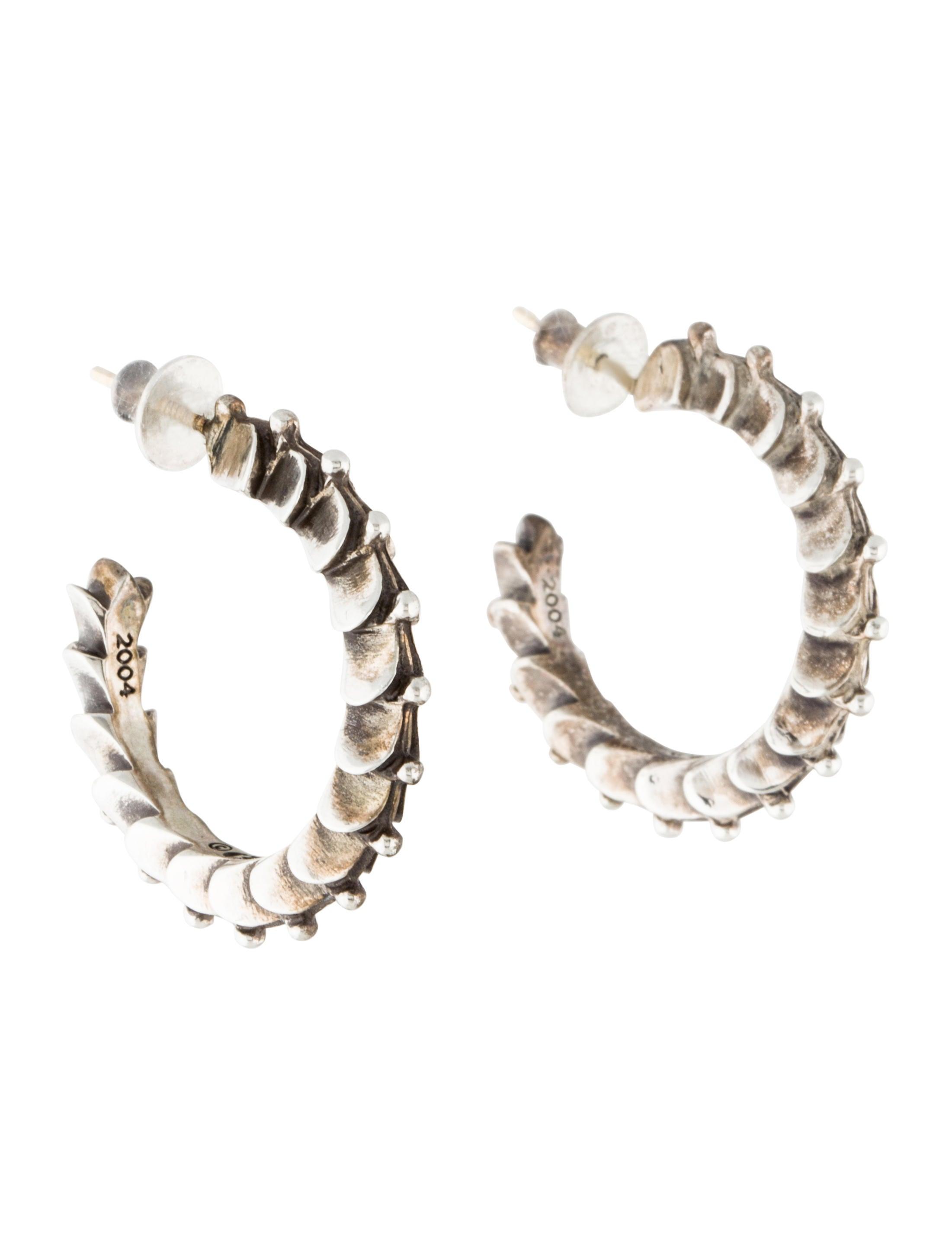 9b0ad4ef989f Chrome Hearts Hoop Earrings - Earrings - CHH21862