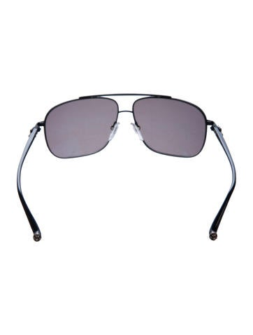 d3392ba6faea Chrome Hearts Pork Sword Aviator Sunglasses - Accessories - CHH22240 ...