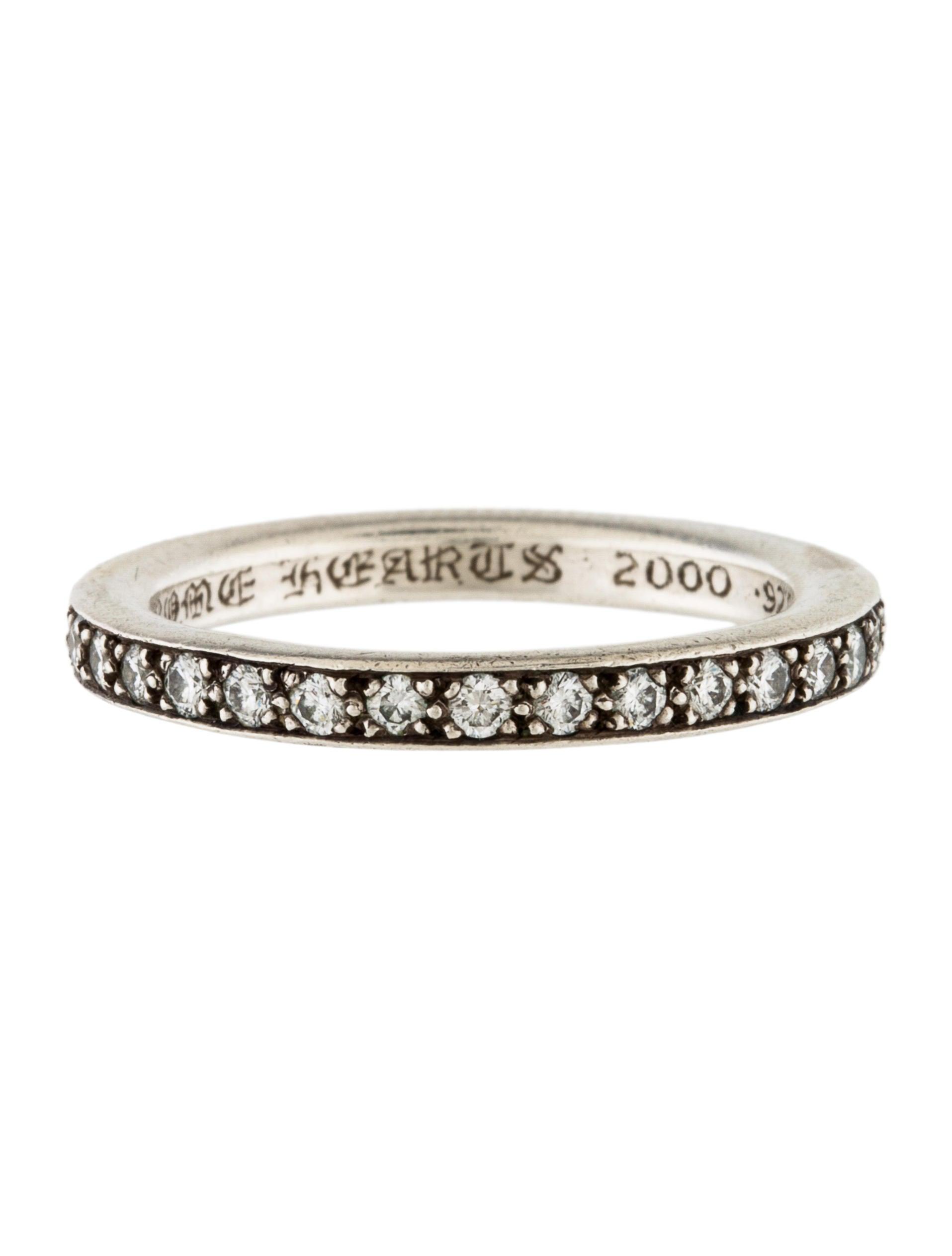 669bc5c392fb Chrome Hearts Diamond TFL Eternity Band Ring - Rings - CHH22378 ...