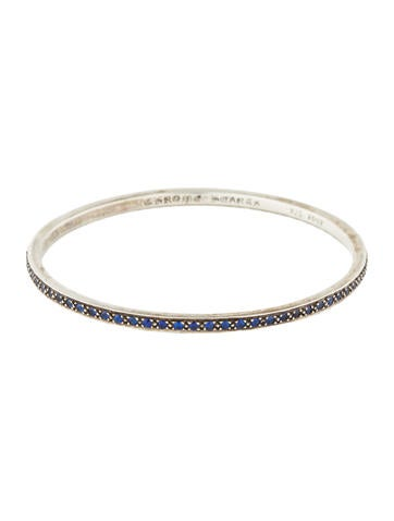 Chrome Hearts True Fucking Love Sapphire Bangle None