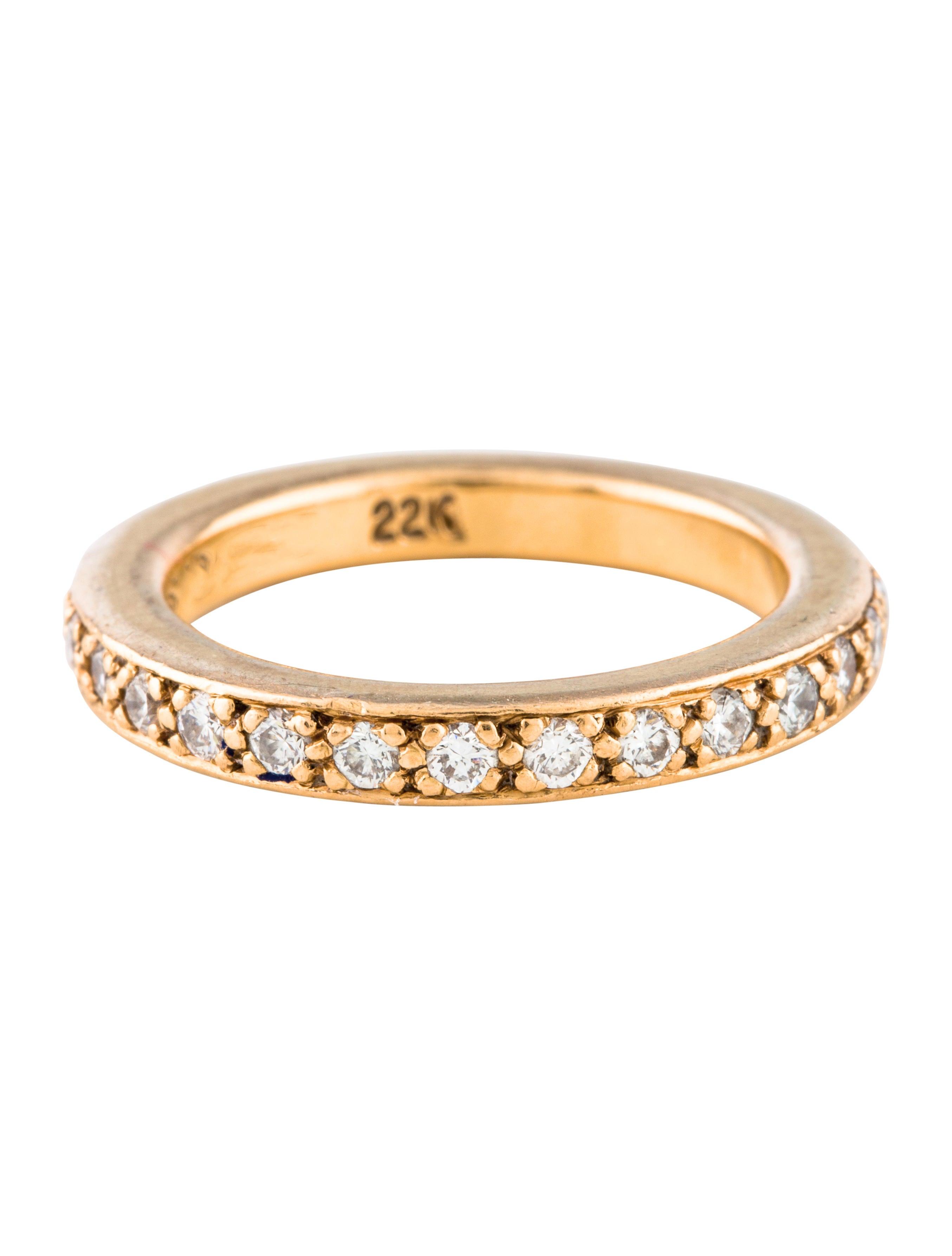 6454af06a952 Chrome Hearts 22K Diamond TFL Eternity Ring - Rings - CHH23107