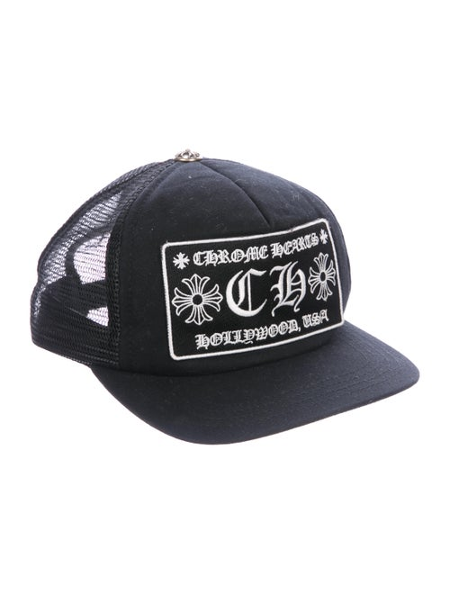 02c061c71ab68 Chrome Hearts Hollywood Trucker Hat - Accessories - CHH23272