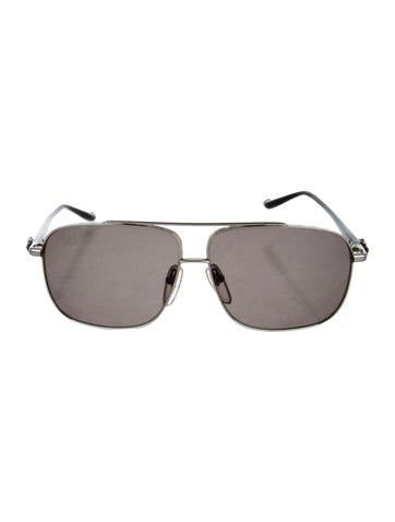 ac7c8ecb0039 Chrome Hearts Pork Sword Aviator Sunglasses - Accessories - CHH24140 ...