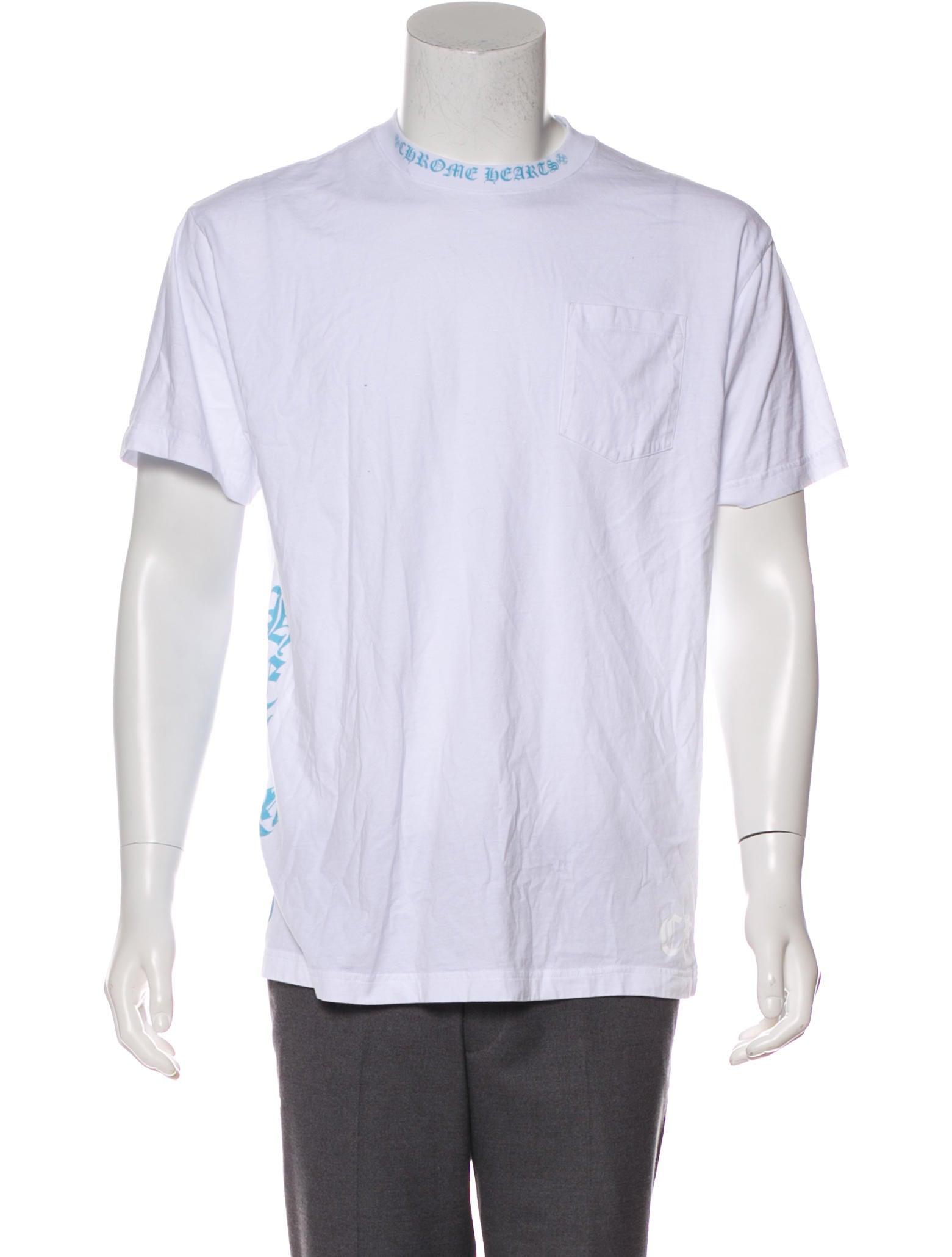 a3e6ee2b48e4 Chrome Hearts Logo Pocket T-Shirt - Clothing - CHH24448