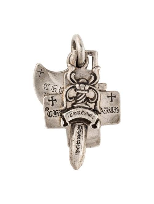 c4c06bdc634c Chrome Hearts Triple Pendant - Necklaces - CHH24752