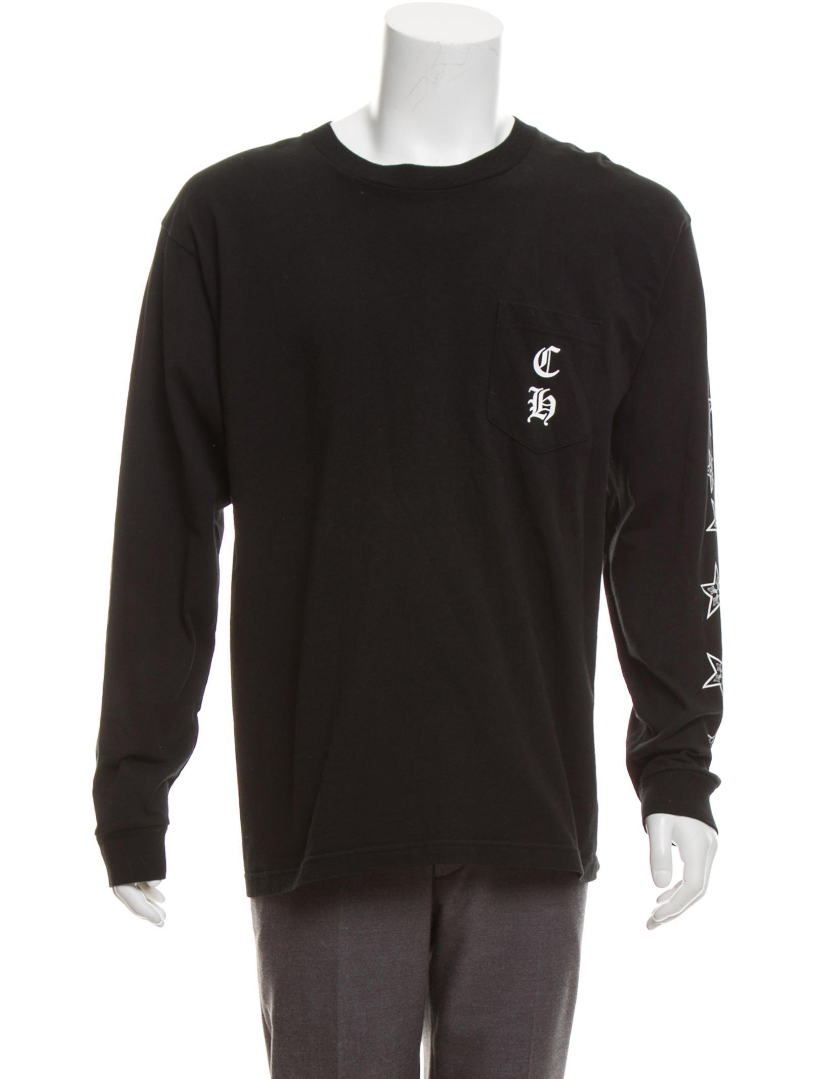 12919eb1e073 Chrome Hearts Long Sleeve Graphic Logo T-Shirt - Clothing - CHH25001 ...