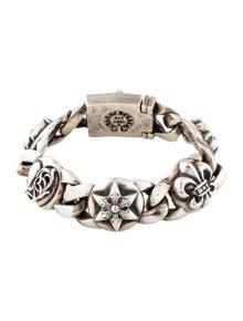 e5307232aceb Chrome Hearts. Station Link Bracelet