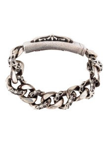 c12f6060d9b6 Chrome Hearts. Cross ID Bracelet