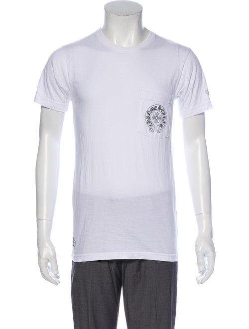 Chrome Hearts Graphic Print Crew Neck T-Shirt Chro