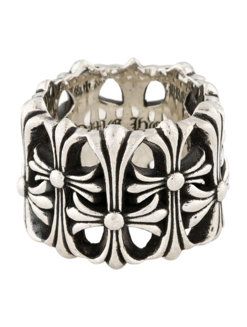 Chrome Hearts Cemetery RIng Silver