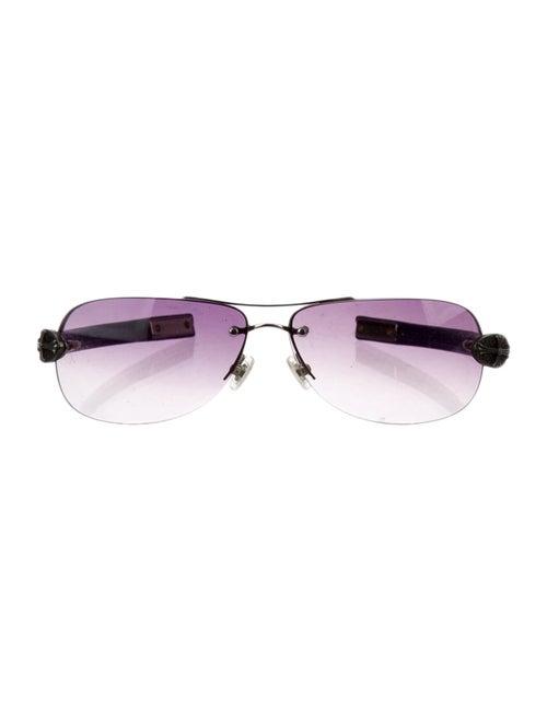 Chrome Hearts Little Oval Classic Sunglasses Chrom