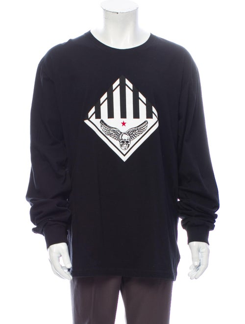 Chrome Hearts Foti Graphic Longsleeve Graphic Prin