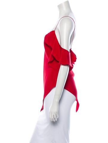 Juan Carlos Obando Silk Top w/ Tags