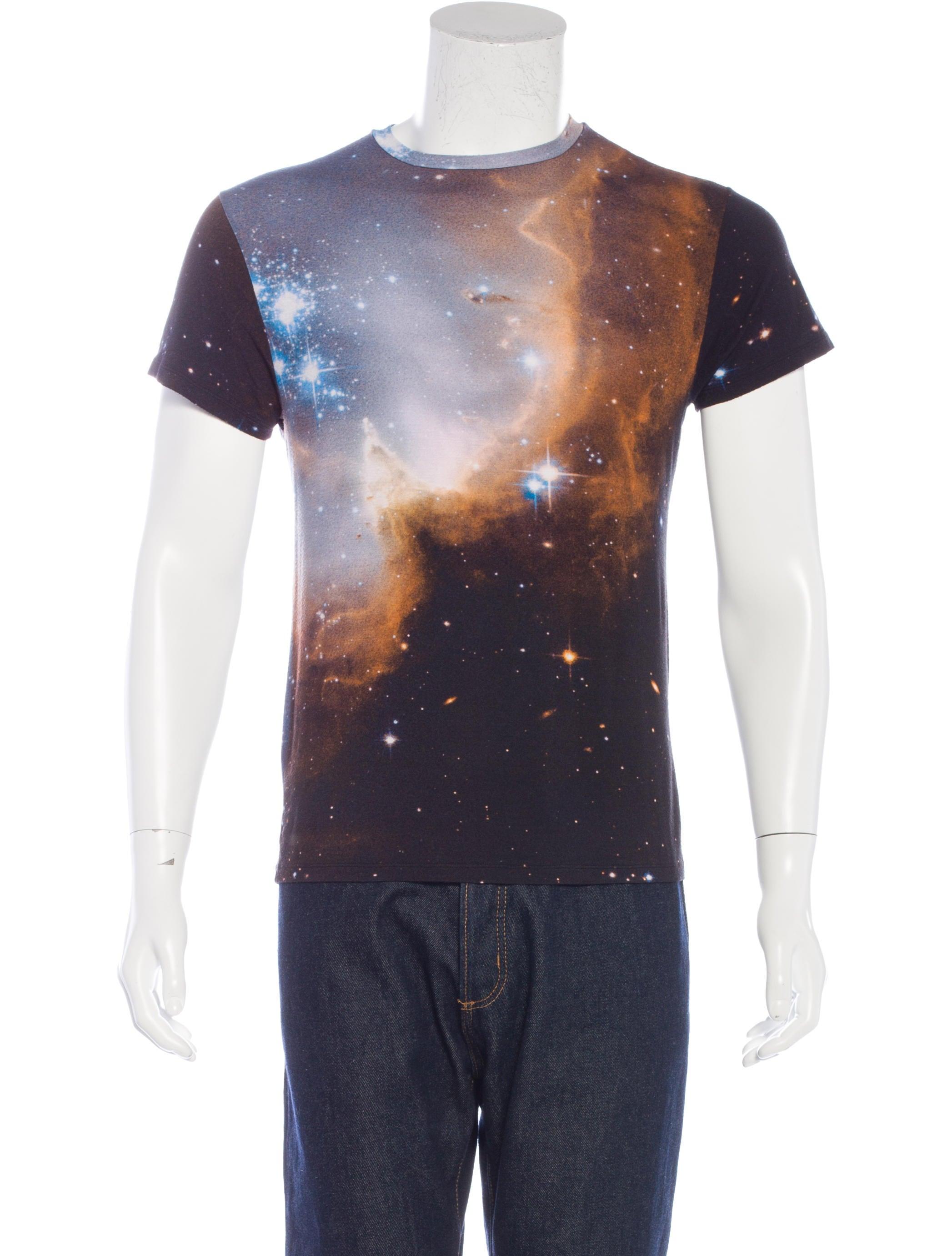 Christopher Kane Deep Galaxy Print T Shirt Clothing Chi21289