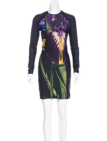 Christopher Kane Printed Knit Dress None