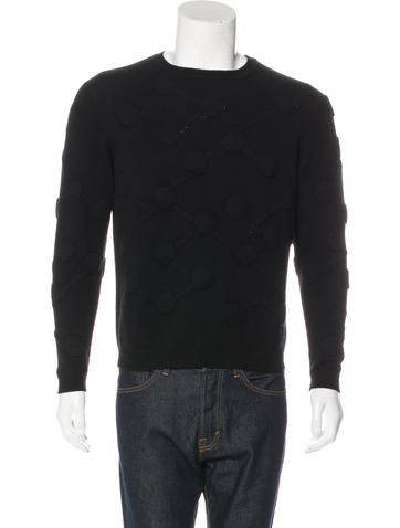Christopher Kane 3D Molecule Cashmere Sweater None