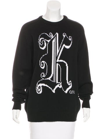 Christopher Kane Intarsia Wool Sweater None