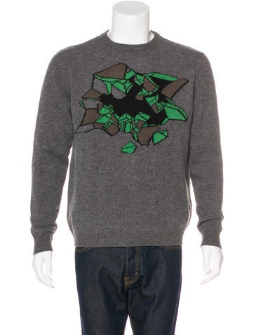 Christopher Kane Wool Patterned Sweater None