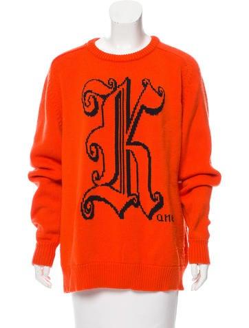 Christopher Kane 2017 Intarsia Sweater None